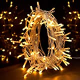 String Lights, Sunnest Fairy Lights Warm White 100 LED 10M Decoration Tree Lights for Christmas Wedding Birthday Holiday Party Indoor& O