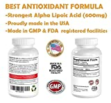 Alpha Lipoic Acid ALA 600mg - Best Antioxidant complex supplement formula with Vitamins Provides Antioxidant Protection and NutritionPromote Energy Levels Discount