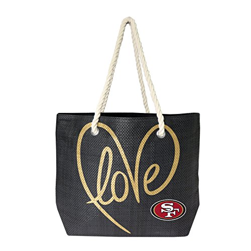 NFL San Francisco 49ers Rope Tote Bag - San Francisco 49ers Paper