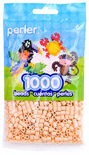 (Perler Beads Fuse Beads for Crafts, 1000 pcs, Peach)