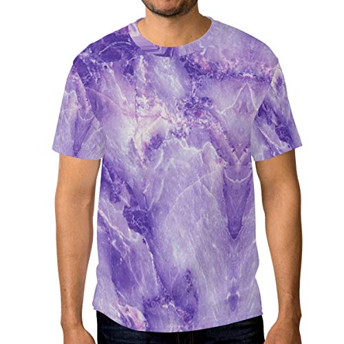 - Purple Marble Men's Short Sleeve T-Shirt Royal Blue T-Shirt Men's Workwear Pocket Short Sleeve T-Shirt Men's Round Neck T-Shirt