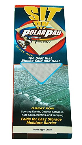 Polar Wrap Insulator Sit On It Space Age Polar Pad W Out Grommets Cream