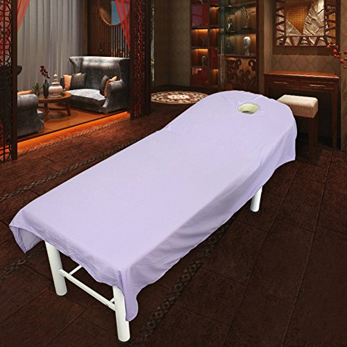 JIAOHJ Massage Table Sheet,with Face Hole Beauty Salon Waterproof Oilproof Beauty Bed Cover,spa Body Bed Sheet-d - Divine Valance