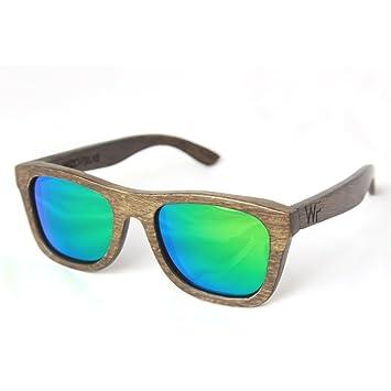 Holz-Sonnenbrille in verschiedenem Designs (Grün) gJphmW