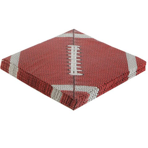 Football Tablecloth Paper Cups Plates Party Supplies Supply Trays NFL Sports Superbowl Game Day Tailgate Set of 3