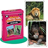 "Webber ""Animals"" Photo Card Deck - Super Duper Educational Learning Toy for Kids"