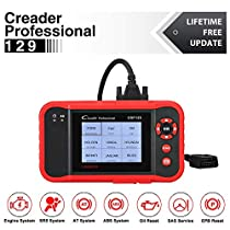 Launch Scanner CRP129 Scan Tool OBD2 ENG/Transmission/ABS/SRS Code Reader with EPB SAS OIL Light Service Resets