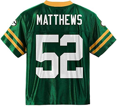 Clay Matthews Green Bay Packers Green Youth Player Home Jersey (Medium 8/10) (Packer Jersey Youth)