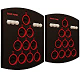 Oche Pong - Beer Pong on the Wall, Window, or Tailgate Tent, Two Board Set