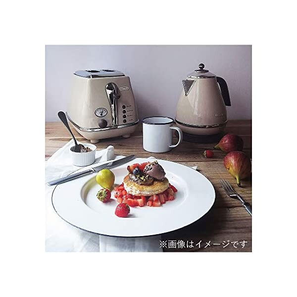 Delonghi Electric kettle (1.0L)「ICONA Vintage Collection」KBOV1200J-BG (Dolce Beige)【Japan Domestic genuine products】 3