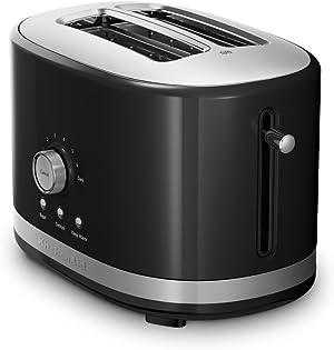 KitchenAid 2-Slice Toaster with High Lift Lever KMT2116OB, Onyx Black