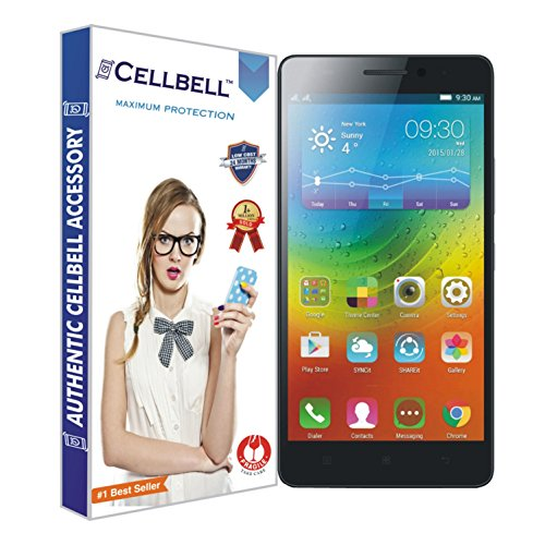 Tempered Glass For Lenovo A7000 (Clear) with Free Back Case (Clear) - 1