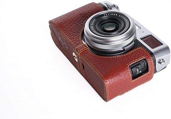 Handgemachte Echte Reale Lederne Halbe Kamera
