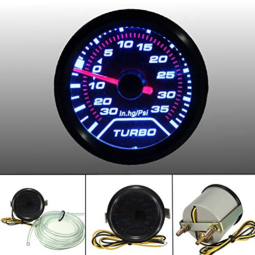 YSHtanj Turbo Boost Gauge Car Interior Parts Turbo Meter Universal Car High Accuracy 52mm Digital LED Pressure Turbo Boost Meter Gauge: Amazon.co.uk: Lighting