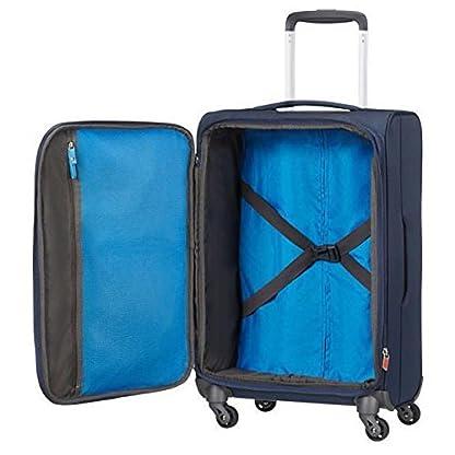 American Tourister  Equipaje de cabina, 55 cm, 40 L, Azul