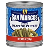 San Marcos Sliced Jalapeno Peppers, 7-Ounce (Pack of 24)