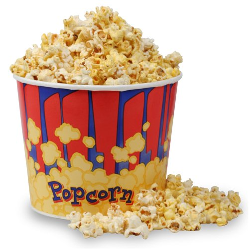 Great Northern Popcorn 50 Movie Theater Popcorn Bucket 85 Ounce (OZ) (50 Ct Tub)