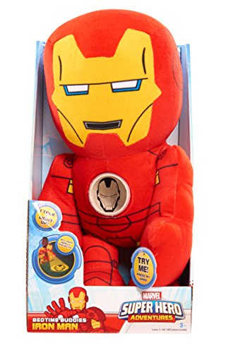 Just Play Marvel Sha Bedtime Buddies Iron Man Plush