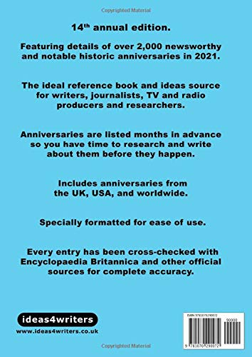 The Date-A-Base Book 2021: 2, 000 newsworthy and notable