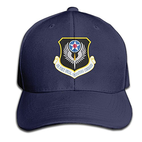 Air Force Special Operations Command Unisex Solid Color Cotton Adjustable Tongue Cap Baseball Cap Trucker Hat