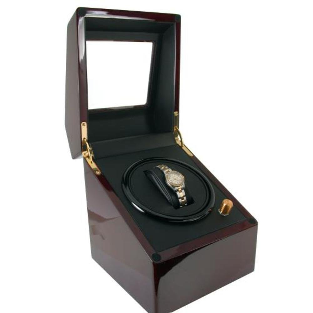 Single Watch Winder Wood