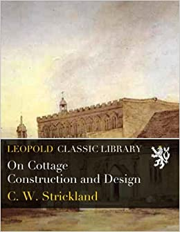 Book On Cottage Construction and Design