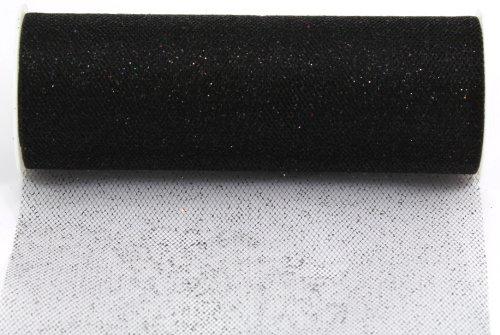 Kel-Toy Glitter Tulle Fabric, 6-Inch by 10-Yard, - 10 Dress Fabric Yard