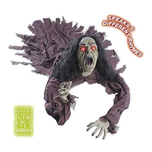 Comprar Zombie de Halloween 140 cm, con luz y Sonido WIDMANN - Tienda Online Decoración y accesorios - Envíos Baratos o Gratis