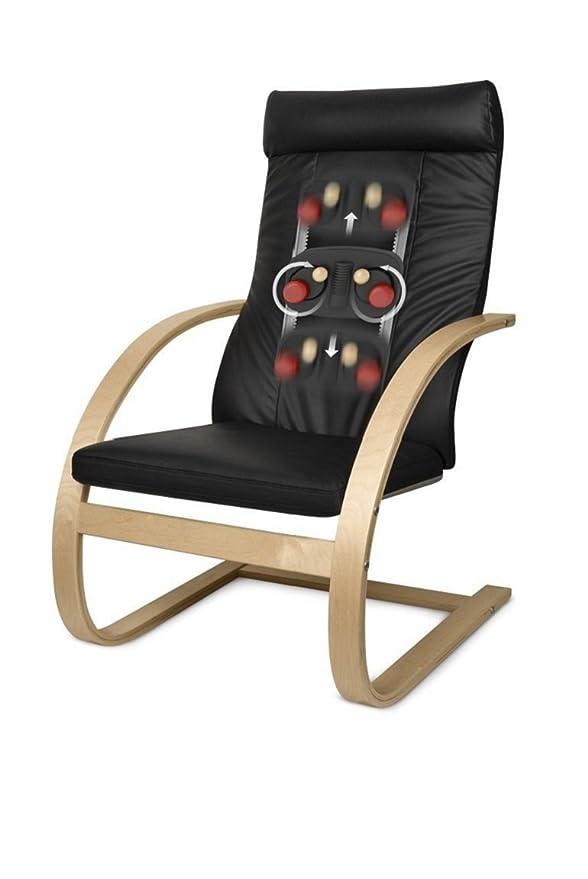 Medisana RC 420 88412, Sillón Reclinable, con masaje adicional Shiatsu y función de calor para la relajación