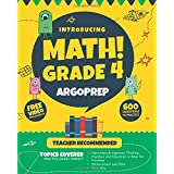 Introducing MATH! Grade 4 by ArgoPrep: 600+ Practice Questions + Comprehensive Overview of Each Topic + Detailed Video Explan