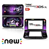 Ci-Yu-Online VINYL SKIN [new 3DS XL] - Pokemon #2 Gastly Haunter Gengar - Limited Edition STICKER DECAL COVER for NEW Nintendo 3DS XL / LL Console System