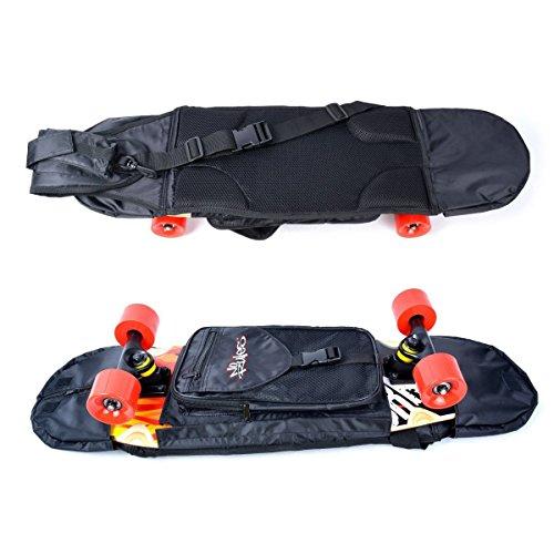 NoRules Skateboard Bag Skateboarding Adjustable Shoulder Bag Backpack for 28 inch to 31.5 inch Skateboard by NoRules