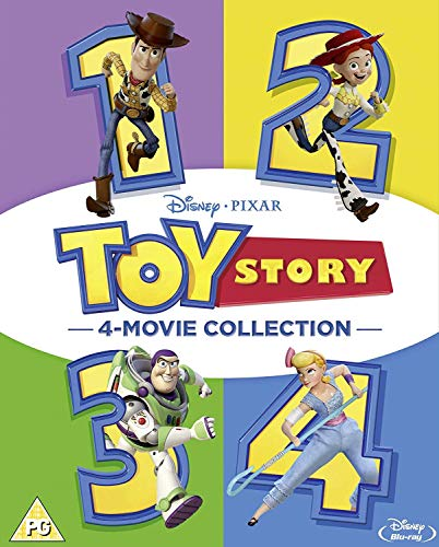 Toy Story 1-4 Boxset [Blu-ray] [2019] [Region Free]