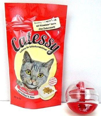 Juguete de pelota para gato con diseño de gato de Snack ...