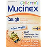 Children's Cough Mini-Melts, Orange Cream, 12 Packets, Sold as 1 Each