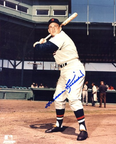 Harmon Killebrew (D. HOFer) Autographed/ Original Signed 8x10 Color Photo Showing Him in a Minnesota Twins Uniform (pose 1)