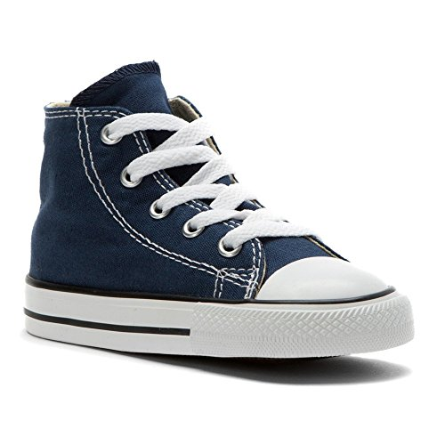 Converse Shoes Online (Converse Kid's Chuck Taylor All Star High Top Shoe, navy, 2 M US Infant)