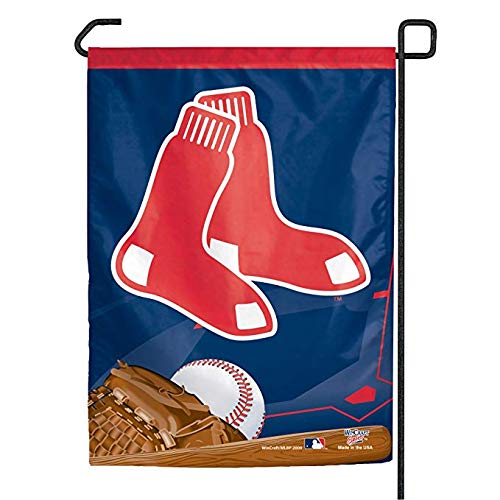 (WinCraft MLB Boston Red Sox Socks Logo Garden Flag, 11