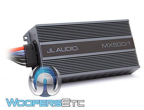 Jl audio mx500/1 Amplifier Compact Marine/Powersports 500watt Subwoofer amp 1-Channel (Amplifier Marine Jl Audio)