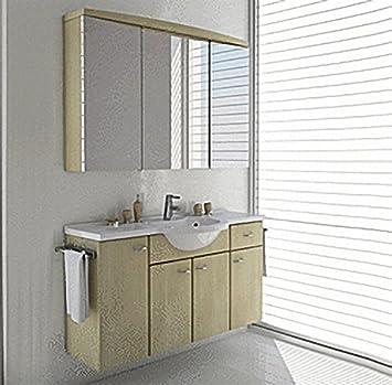 ARCOM Bathroom Furniture Set Matt Nice 06u2013lichtgr. Waschtischunterschr.   SCHUBLADE  Sink