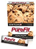 Pure Fit Nutritional Bar, Peanut Butter Chocolate Chip, 2-Ounce Bars (Pack of 15)