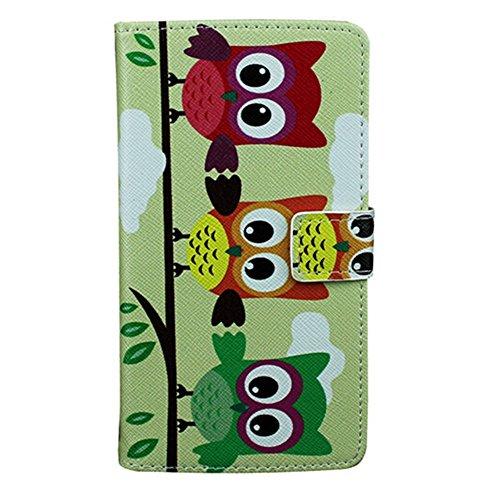 EVTECH (TM) Fleur Flip Cover Cuir Coque Leather Housse Blanc Shell Etui Housse Bling Case pour Apple iPhone 6 4.7''