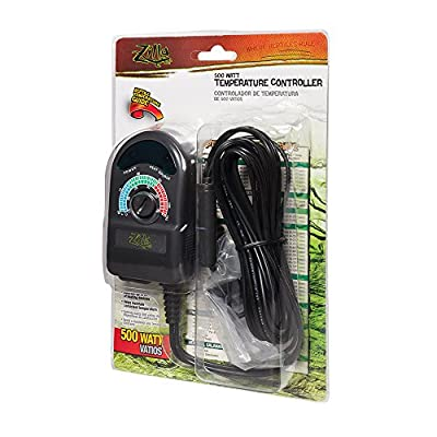 Zilla Reptile Terrarium Heat & Habitat Lighting Temp. Controller, 500W from Zilla