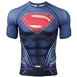 COOLMAX Raglan Short Sleeve Superman Mens