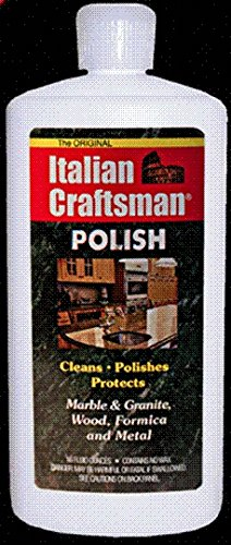 Italian Craftsman Poilish Marble and Granite Polish 16 oz, Pack of 4 by Italian Craftsman