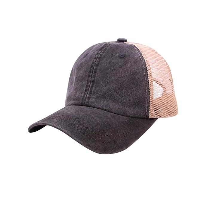 SamMoSon,2019 Gorra Marinero Mujer Vintage Sombrero Hombre Algodón y Lino Gorras Planas Unisex Boina Hat: Amazon.es: Ropa y accesorios