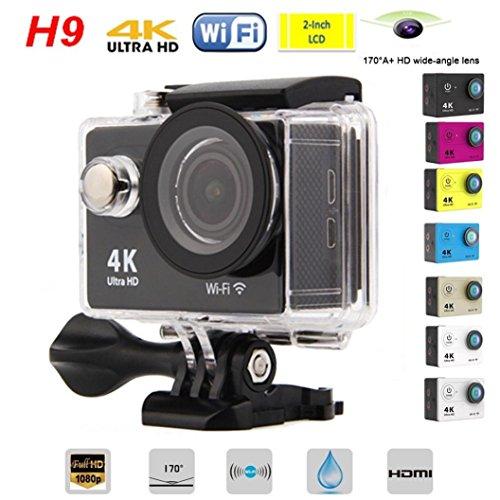 Kinrui Waterproof 4K SJ9000 Wifi HD 1080P Ultra Sports Action Camera DVR Cam Camcorder (Blue) by Kinrui (Image #2)