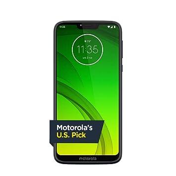 Amazon com: Moto G7 Power - Unlocked - 32 GB - Marine Blue (US