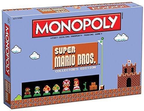 Super Mario Bros Themed Monopoly - Collectors Edition by Super Mario 8-Bit: Amazon.es: Juguetes y juegos