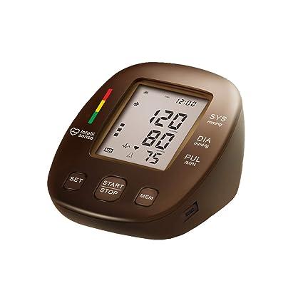WShijie Tensiómetro electrónico del Brazo Superior Monitoreo Irregular de la frecuencia cardíaca Medición precisa Adecuado para